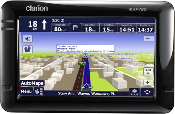 clarion-gps