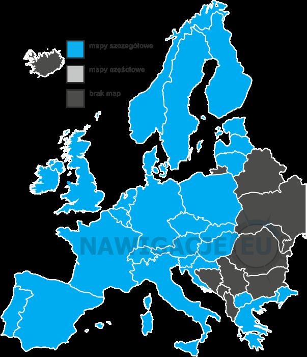 Aktualizacja map