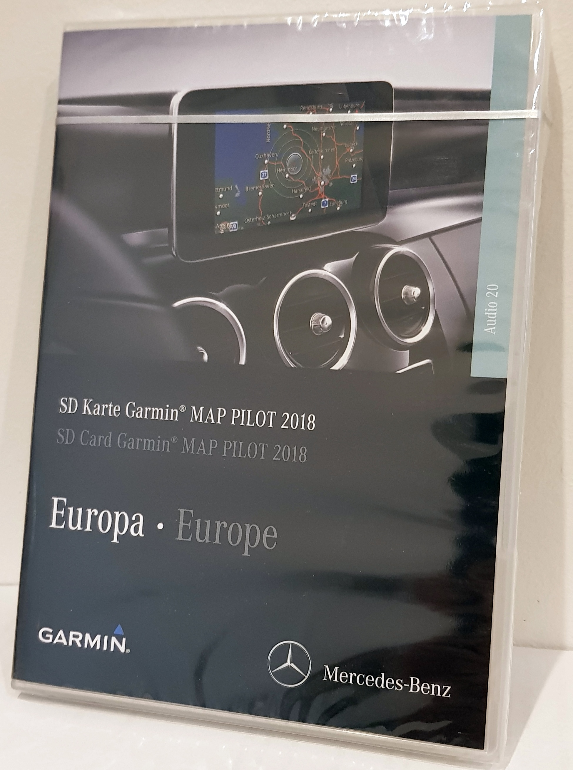 garmin map pilot mercedes benz a213 2018. Black Bedroom Furniture Sets. Home Design Ideas
